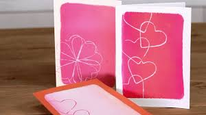 how to make s day cards with cookie cutters