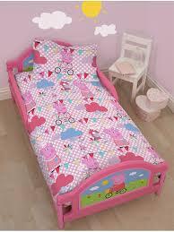 Peppa Pig Duvet Cover 100 Cotton Peppa Pig Tweet 4 In 1 Junior Bedding Bundle Set Bedroom