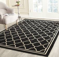 9 X 12 Outdoor Rug by Amazon Com Safavieh Courtyard Collection Cy6918 226 Black And