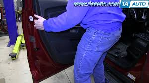 how to remove install front door panel 2009 13 chevrolet traverse