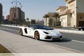 lamborghini car gold meet the one off gold plated lamborghini aventador roadster qatar