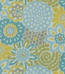 home decor sheer fabric waverly button blooms spa sheer joann