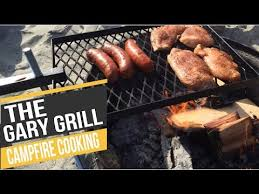 Cooking Over Fire Pit Grill - the gary grill the best open fire cooking grill campfire grill