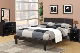 espresso twin bed poundex f9212t 4 pieces espresso platform twin bed set