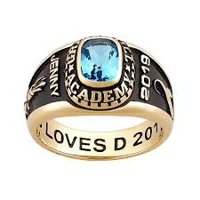 class ring high school class rings personalized college high school graduation rings