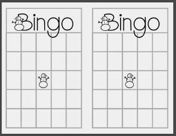 Free Printable Halloween Bingo Cards With Pictures Blank Christmas Bingo Cards