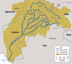 Map Of China Rivers by Understanding The Indus Water Treaty Can India Really Block