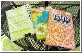 tablecloth for patio table with umbrella awesome how to make outdoor wall art in my own style throughout