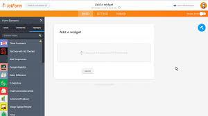 Google Spreadsheet Widget How To Add A Widget To Your Form Jotform
