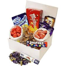 get well soon gift get well soon gift box handy candy from the uk retro sweet