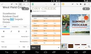 6 best office apps for android 2014 edition