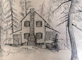 gallery nature house sketches drawing art gallery