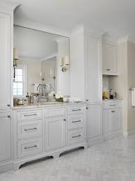 Floor To Ceiling Bathroom Cabinets Design Ideas - Floor to ceiling bathroom storage cabinets