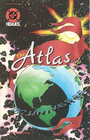 United States Atlas Map Online by The Secret Geography Of The Dc Universe A Really Big Map