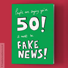 50th birthday cards news 50th birthday card by pello