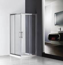 corner shower screens with sliding doors saudireiki