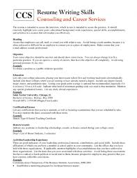 Resume Heading Examples Special Skills For Resume Examples For Sample With Special Skills