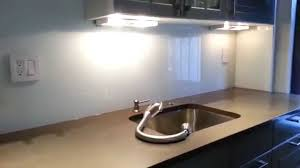 backpainted glass for kitchen new york glass backsplash youtube