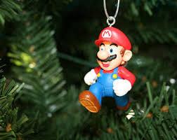 mario ornaments etsy