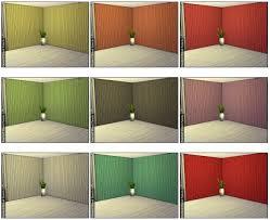 Updating Wood Paneling Painted Wood Paneling By Sailfindragon At Dragonk Sims Sims 4