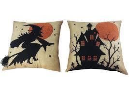 craft outlet 2 piece halloween throw pillow set u0026 reviews wayfair