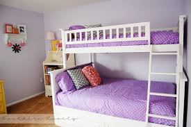 bed for kids girls girls bedroom with bunk beds home design ideas