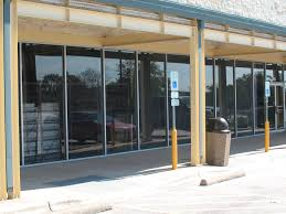 glass door austin commercial windows and store fronts austin tx