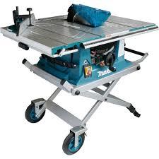 makita portable table saw makita mlt100x 260mm table saw with trolley stand powertool world