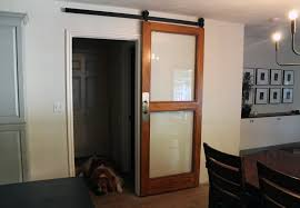our barn style door part 2 it u0027s hung chris loves julia