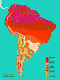 Map Of Peru South America by South America Hardiness Map Landscape Architect U0027s Pages