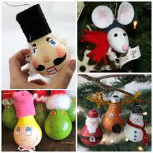 creative light bulb ornaments crafty morning