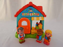 Little Treehouse Early Learning Center Early Learning Centre Happyland Toy Shop With Sounds 3 Figures