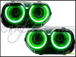 2015 dodge challenger lights 15 17 dodge challenger plasma halo rings headlights bulbs