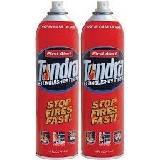 First Alert Kitchen Fire Extinguisher by First Alert Af400 2 Tundra Fire Extinguisher Aerosol Spray Twin