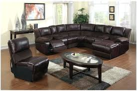 Leather Sectional Sofa Chaise by Chaise Lounge Blackjack Simmons Brown Leather Sectional Sofa