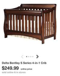 Delta Bentley 4 In 1 Convertible Crib Delta Bentley S Series 4 In 1 Crib Really The Look Of This