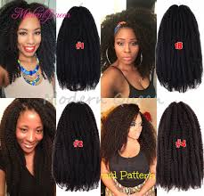 ombre marley hair cheap crochet marley braids hair extensions afro kinky curly twist