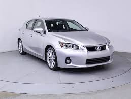 lexus for sale ct used 2013 lexus ct 200h hybrid sedan for sale in miami fl 85581