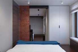 Tiny Room Design Innovative Industrial And Space Savvy Tiny Bachelor Pad Does It All