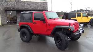 wrangler jeep 2 door 2014 red jeep jk 2 door tom u0027s 4x4 walkaround youtube