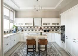 white kitchen cabinets with tile floor tile floor with white cabinets houzz