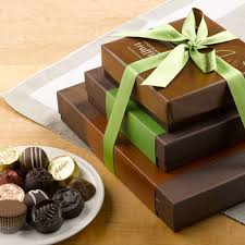 gourmet chocolate gift baskets chocolate gift towers the chocolate tower lake chlain chocolates