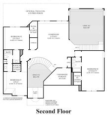 southlake meadows the cartegena home design 2nd floor floor plan