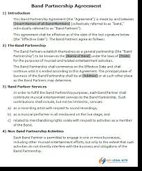 band contract template 28 images 1000 images about our