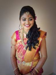 Reception Sarees For Indian Weddings Simple Trending South Indian Bride Hairstyle To Try On Wedding