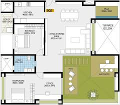 2677 sq ft 2 bhk 2t apartment for sale in goyal courtyard 77