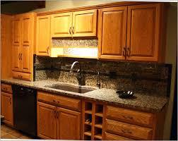Backsplash Ideas For Kitchens Inexpensive 100 Kitchen Backsplash Ideas With Oak Cabinets Kitchen