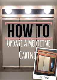 can you paint a metal medicine cabinet pin on originally worn painted furniture and cabinets
