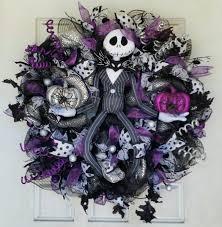 purple jack skellington wreath nightmare before christmas nbc