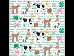 4h themed scrapbook paper supplies stickers and more